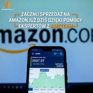 Szybka i duża sprzedaż na Amazon? Zaufaj zespołowi amzteam.pro