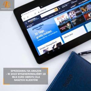 Obsługa konta Amazon- skuteczna sprzedaż dzięki AMZ Team